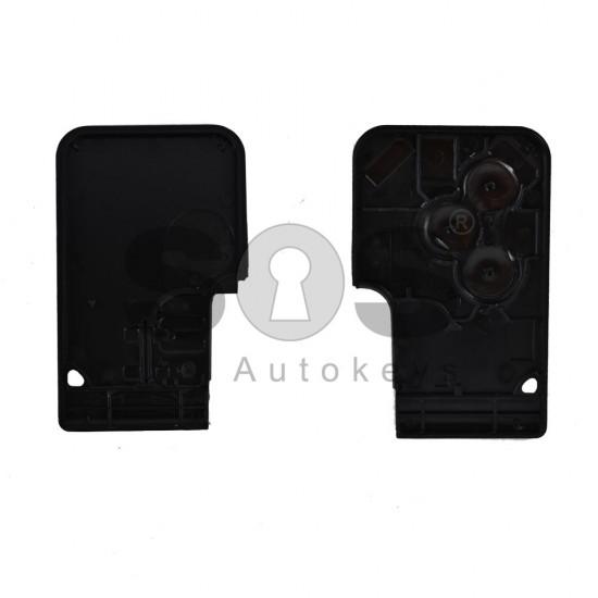 Празна кутийка за ключ за Renault Megane с 3 бутона - VA 2
