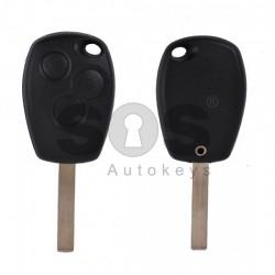 Празна кутийка за ключ за Renault с 3 бутона
