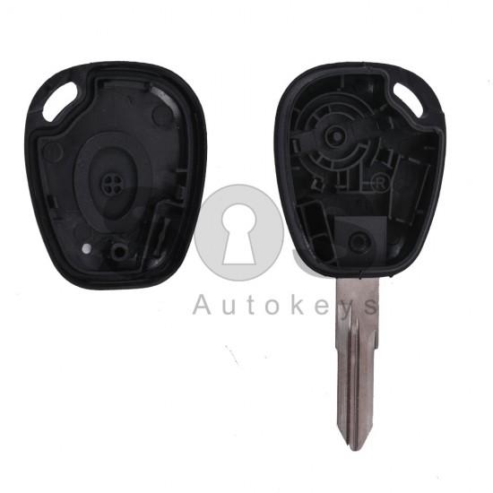 Празна кутийка за ключ за Renault Laguna с 1 бутон
