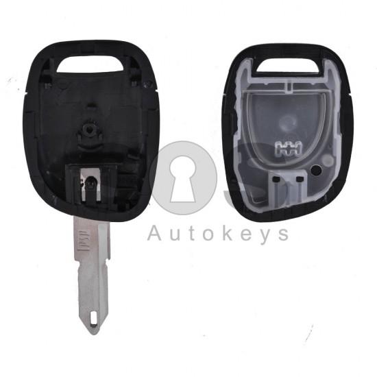 Празна кутийка за ключ за Renault с 1 бутон - NE 72