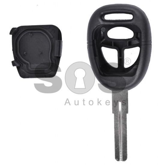 Кутийка за ключ (стандартен) за Saab с 3 бутона - YM27