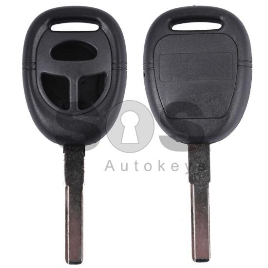 Кутийка за ключ (стандартен) за Saab с 3 бутона - NE66