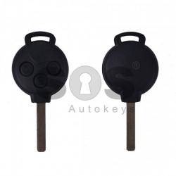 Кутийка за ключ (стандартен) за Smart с 3 бутона - VA2
