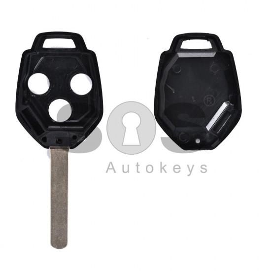 Кутийка за ключ (стандартен) за Subaru с 3 бутона - DAT17