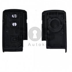 Празна смарт кутийка за ключ за Toyota Verso с 2 бутона
