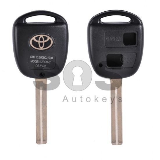 Празна кутийка за ключ за Toyota с 2 бутона - TOY 40