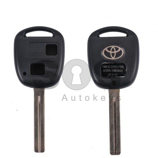 Празна кутийка за ключ за Toyota с 2 бутона - TOY 48