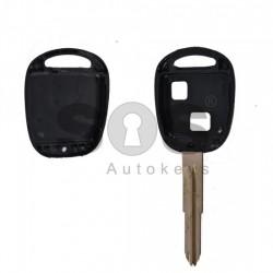 Празна кутийка за ключ за Toyota Verso с 2 бутона - TOY 41