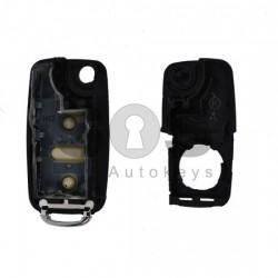 Празна кутийка за ключ за VW UDS/Amarok с 2 бутона - HU 66