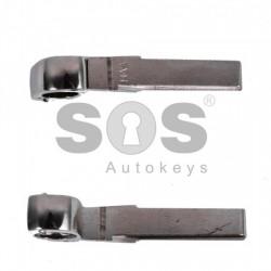 Празна кутийка за ключ за VW с 3 бутона (квадратна) - HU 66