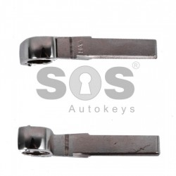 Празна кутийка за ключ за VW с 3 бутона (кръгла) - HU 66