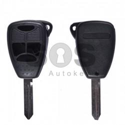 Кутийка за ключ (стандартен) за Chrysler / Dodge / Jeep с 3+1 бутона - CY24