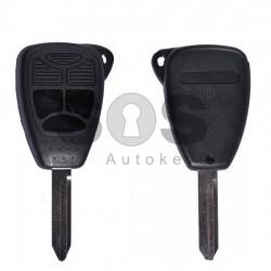 Кутийка за ключ (стандартен) Chrysler / Dodge / Jeep с 3 бутона - CY24