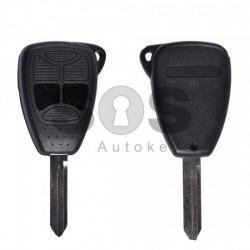 Кутийка за ключ (стандартен) за Chrysler / Dodge / Jeep с 2 бутона - CY24 - Model 2