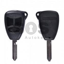 Кутийка за ключ (стандартен) за Chrysler / Dodge / Jeep с 3 бутона - CY24 - Model 1