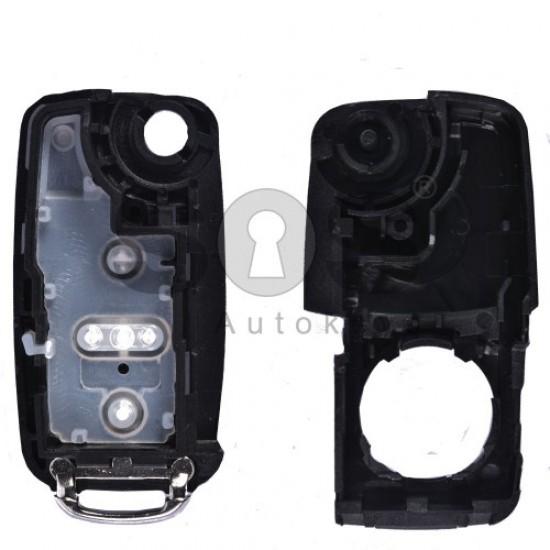 Кутийка за ключ за VW Sharan (UDS) с 4 бутона HU66