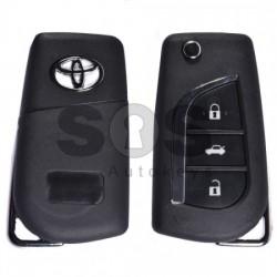 Кутийка за ключ за Toyota с 3 бутона VA2