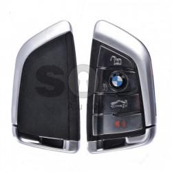 Кутийка за ключ (смарт) за BMW F-серия / G-серияс 3+1 бутона - HU100R