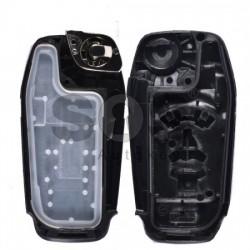 Кутийка за ключ (сгъваем) за Ford с 3+1 бутона - HU101
