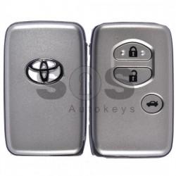 Смарт кутийка за ключ за Toyota с 3 бутона