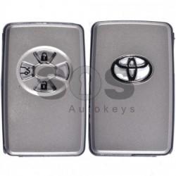 Смарт кутийка за ключ за Toyota Rav4 с 3 бутона