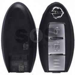 Кутийка за ключ (смарт) за Nissan с 2 бутона - NSN14