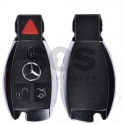 Кутийка за ключ (смарт) за Mercedes-Benz с 3+1 бутона - HU64
