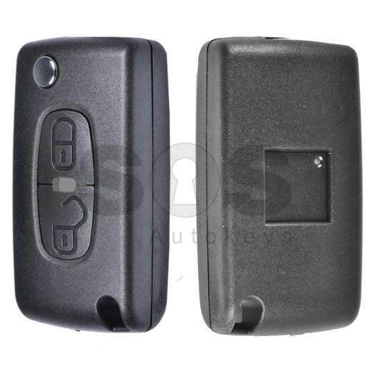 Кутийка за ключ (сгъваем) за Mitsubishi Pajero/ Outlander 2014 - 2016 с 2 бутона