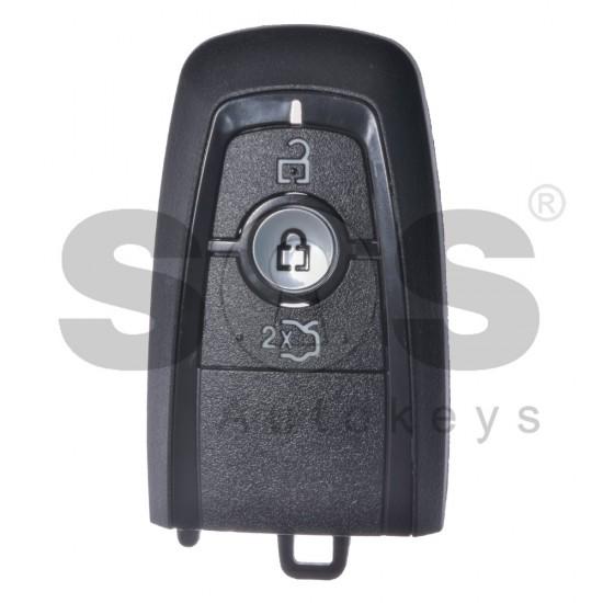 Кутийка за ключ (смарт) за Ford с 3 бутона - HU101 / FOR-51