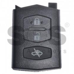Кутийка за ключ (сгъваем - задна част) на Mazda с 3 бутона - MA24R - Model 2
