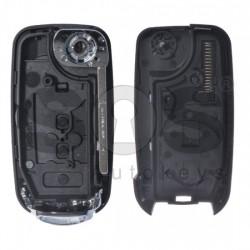 Кутийка за ключ (сгъваем) за Fiat с 3 бутона - SIP22 - с накрайник