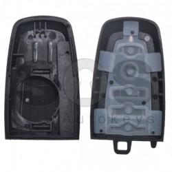 Кутийка за ключ (смарт) за Ford с 4 бутона - HU101 / FOR-51