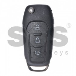 Кутийка за ключ (сгъваем) за Ford с 3 бутона - HU101