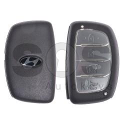 Кутийка за ключ (смарт) за Hyundai с 3+1 бутона - HY22 - С перо