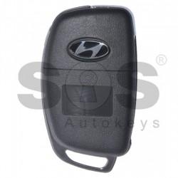 Кутийка за ключ (сгъваем) за Hyundai i20 с 3 бутона - HY22