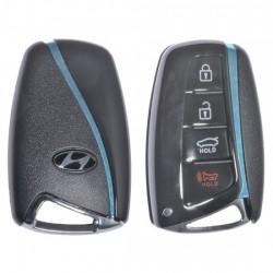 Кутийка за ключ (смарт) за Hyundai с 3+1 бутона - HY22 - С накрайник