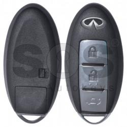 Кутийка за ключ за Infiniti с 3 бутона NSN14