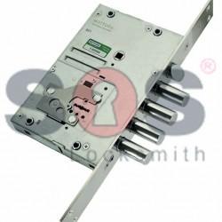 Прекодираща касова брава Mottura за блиндирани врати със странично заключване - REPLAY Model: 52.J530