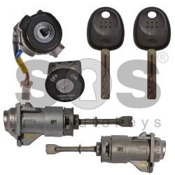 Оригинален комплект за Kia с 2 ключа HITAG2/ ID46/ PCF7936 HY22