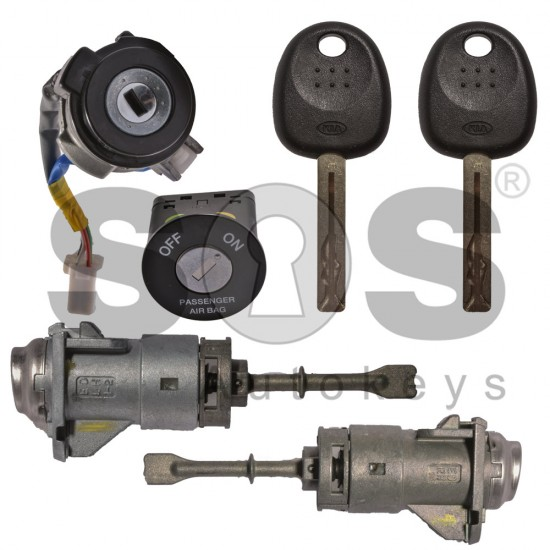 Kомплект за Kia с 2 ключа HITAG2/ ID46/ PCF7936 HY22