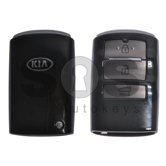 Оригинален смарт ключ за Kia с 3 бутона 433MHz HITAG3/128-Bit AES/ID47