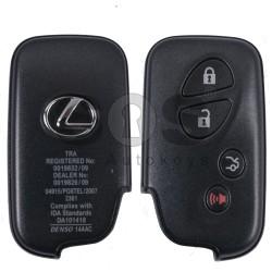 Оригинален смарт ключ за Lexus с 3+1 бутона 433 Mhz TMS 37126 80 BIT