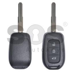 Кутийка за ключ за Renault с 3 бутона HU136FH
