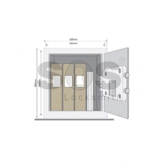 Офис сейф за ценности Yale YSB/400/EB1