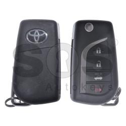 Оригинален сгъваем ключ за Toyota Camry / Hilux 3+1 бутона 315MHz