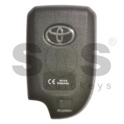 Оригинален смарт ключ за Toyota с 3 бутона 434MHz Texas Crypto/ 128-bit/ AES Keyless Go