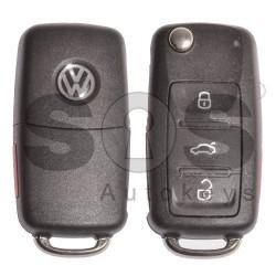 Комплект сет за Volkswagen UDS с 3+1 бутона 315MHz Megamos Crypto / ID48 / HU66