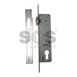 Брава за алуминиева или PVC дограма Kale Kilit с буре - 30 mm