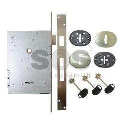 Касова брава за врата MOTTURA с малка перка - 4 такта