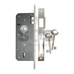 Брава  с обикновен ключ DAF КILIT за интериорни и сервизни врати